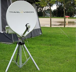 Travel Vision Portable Satellite